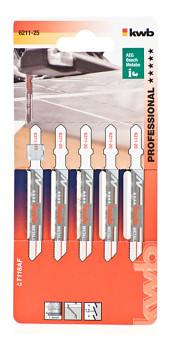 Plátky do prímoraré píly na kov 5 ks na kov F / S20 KWB Einhell 621125